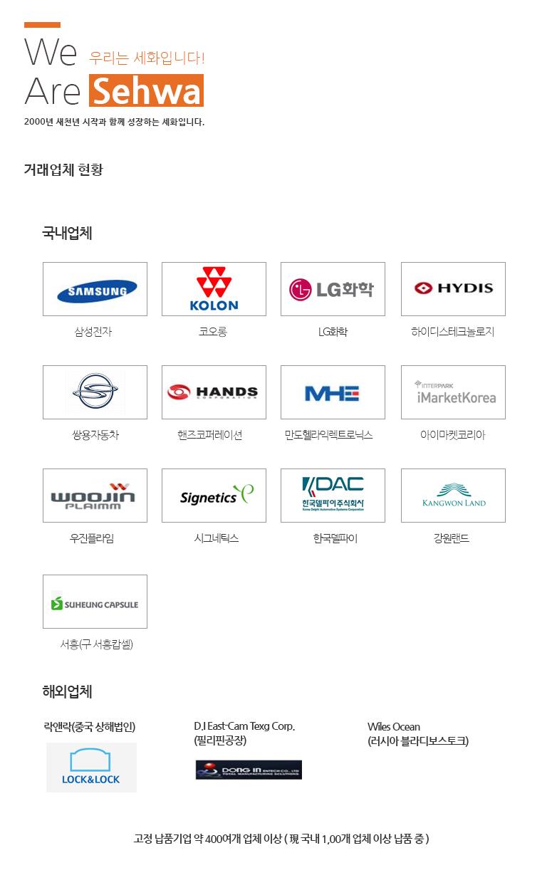 세화세이프티 회사연혁
